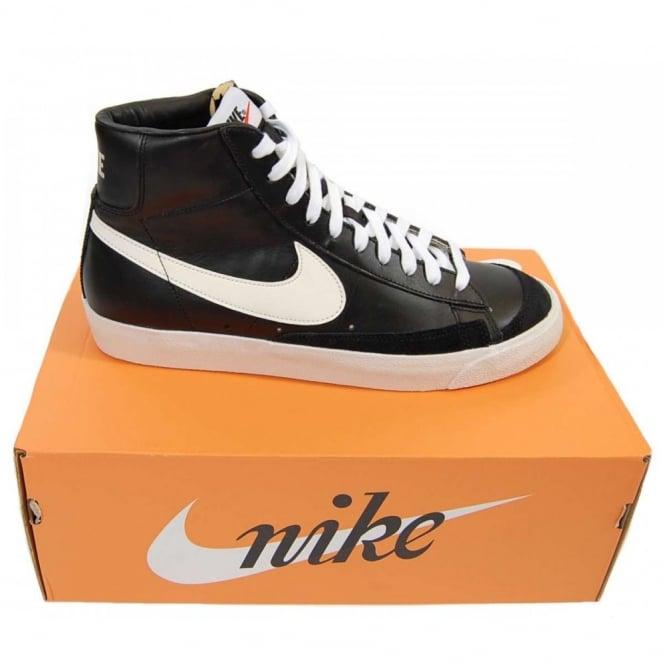 Nike Blazer Mid 77 Premium Vintage Black White - Mens Clothing from ... 30a36c0ad