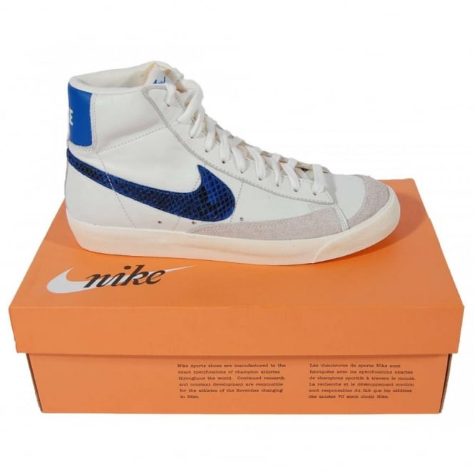 Nike Blazer Mid 77 Premium Vintage Sail Game Royal Mens