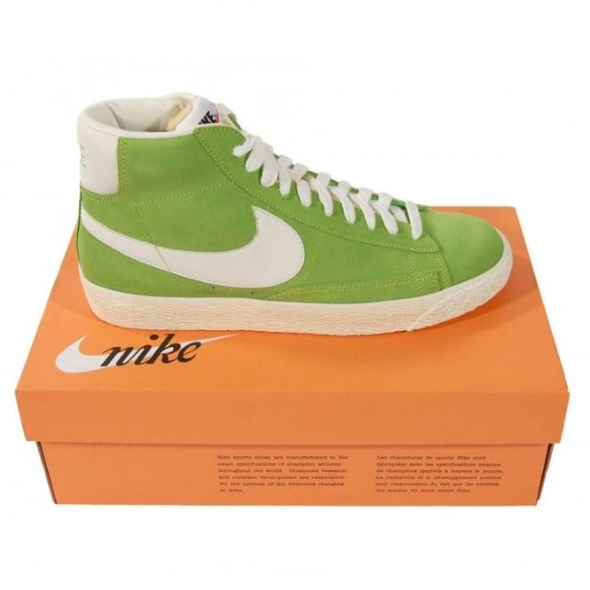 e80eaf1675c4 Nike Blazer Mid Premium Vintage Suede Action Green - Mens Clothing ...