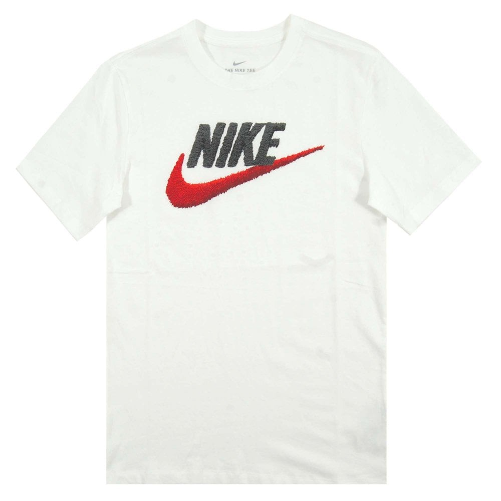 Nike Brand Mark T Shirt ObsidianWhiteUniversity Red