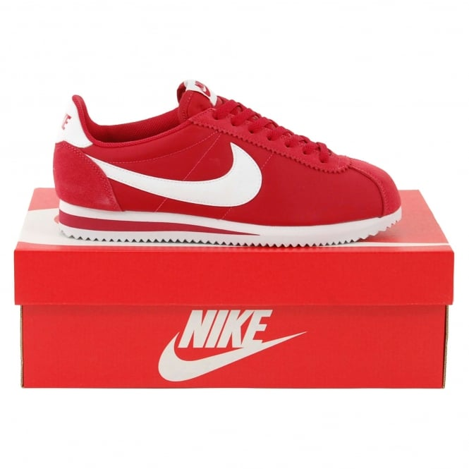 new product a3faa 2f13a Classic Cortez Nylon Gym Red White