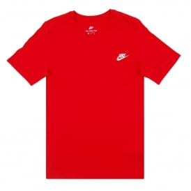 Club Embro Futura T-Shirt University Red White