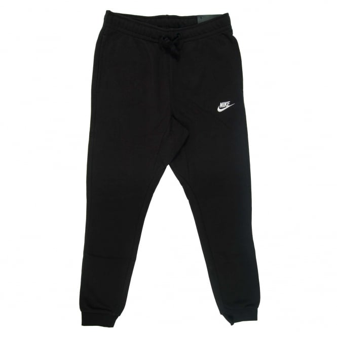 Nike Club Jogger FT Black White