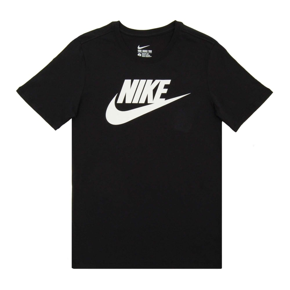 Nike Futura Icon T-Shirt Black White - Mens Clothing from Attic ... 775ced74a2c