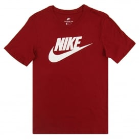 Futura Icon T-Shirt Team Red White