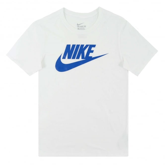 Nike Futura Icon T-Shirt White Game Royal