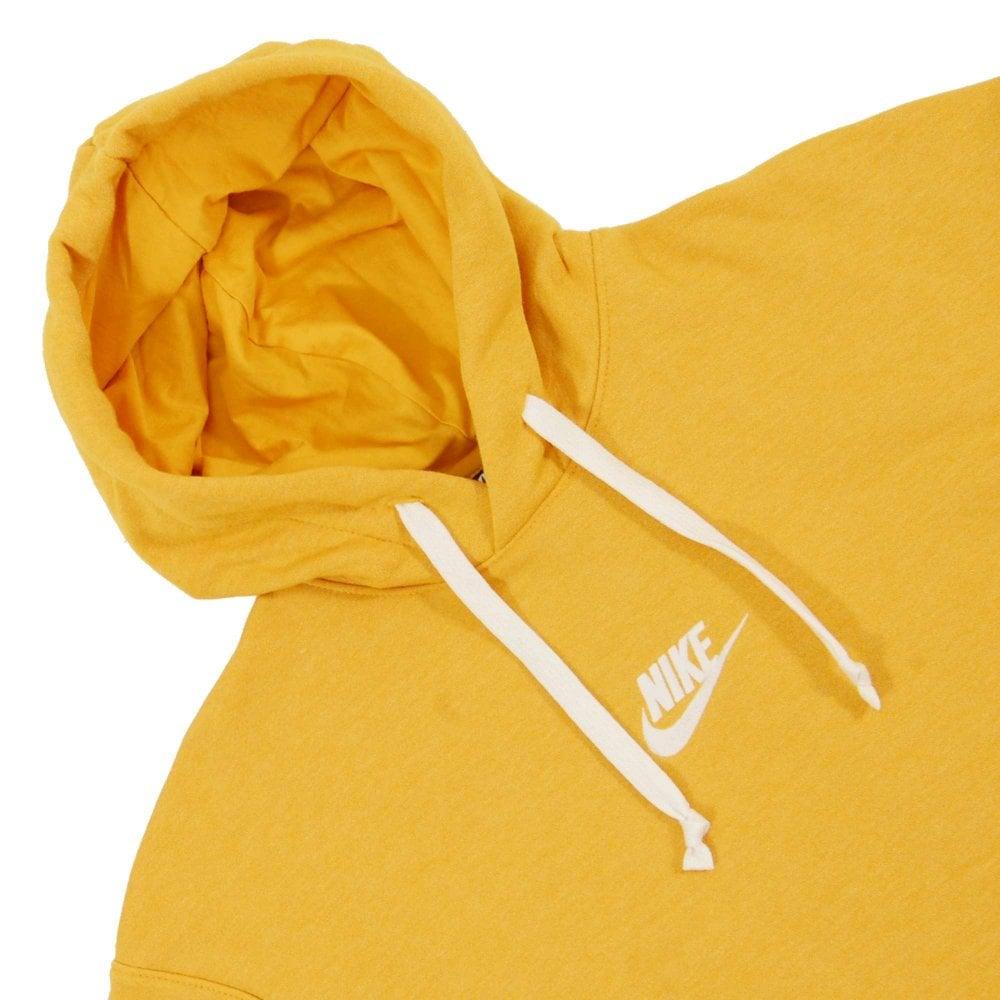 Nike Heritage Pullover Hoodie Yellow Ochre