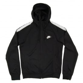 Hooded Tribute Track Jacket Black