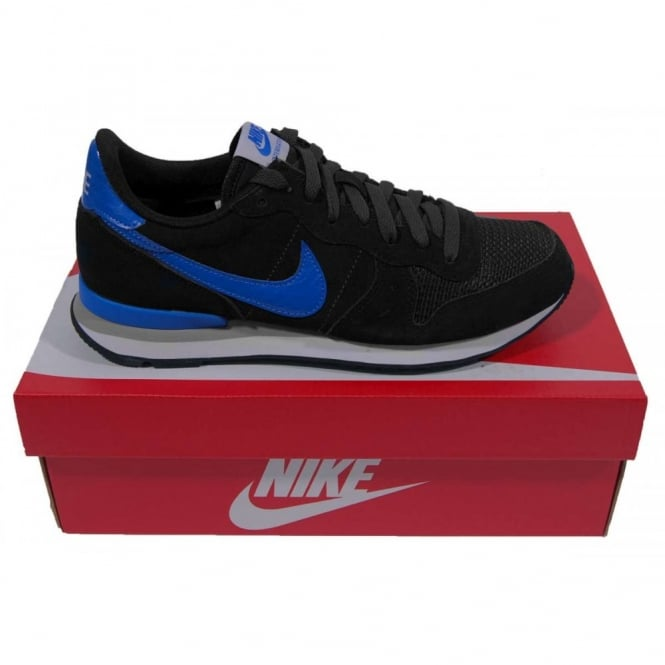 buy popular 5c724 2cba0 Internationalist Leather Black Hyper Cobalt
