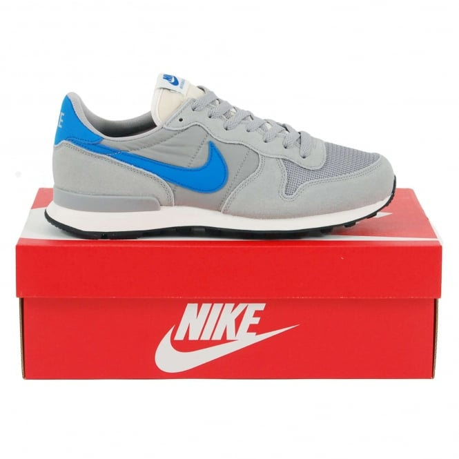 Nike Internationalist Matte Silver Blue Spark Sail
