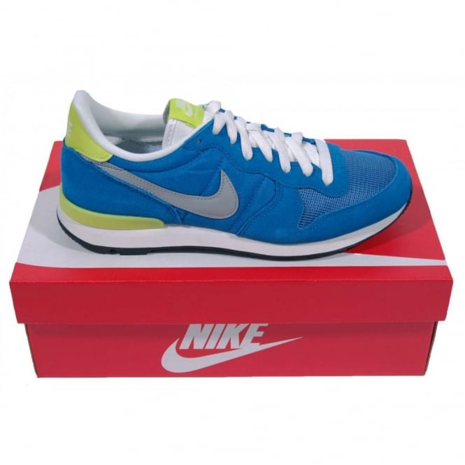 wholesale outlet a few days away detailed images Nike Internationalist Military Blue Silver