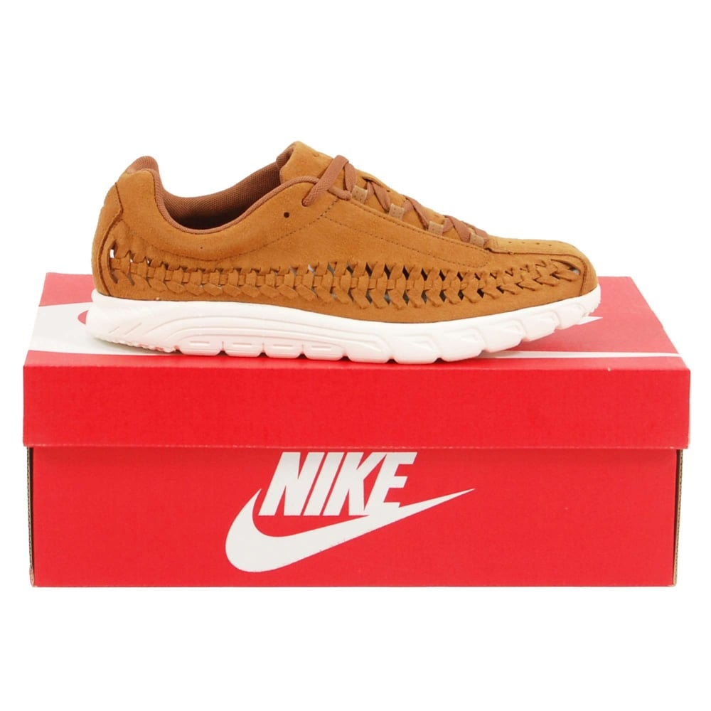 cfd211127482 Nike Mayfly Woven Ale Brown Sail - Mens Clothing from Attic Clothing UK