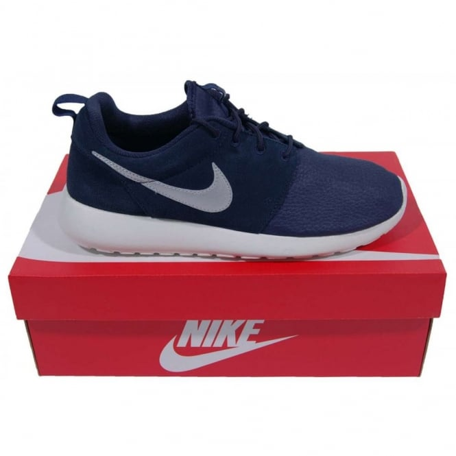 88198aabe390 Nike Rosherun Suede Obsidian Metallic Silver - Mens Clothing from ...