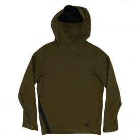 Tech Fleece Funnel Neck Hoody Dark Loden Heather