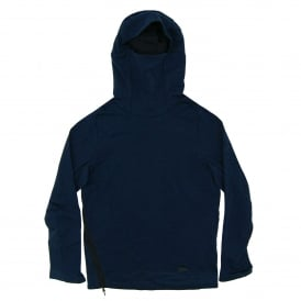 Tech Fleece Funnel Neck Hoody Obsidian Heather