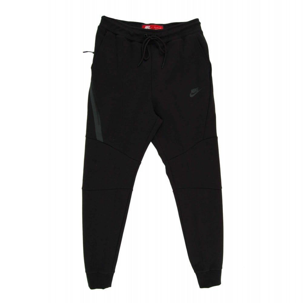 nike fleece black joggers