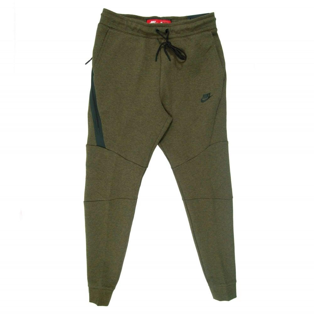 6c5728102d1b0 Nike Tech Fleece Jogger Medium Olive Heather - Mens Clothing from ...