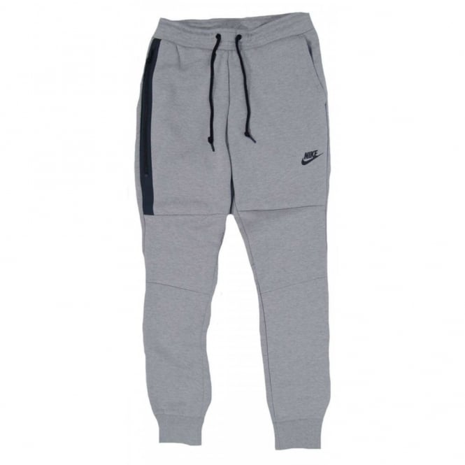 Nike Tech Fleece Pant 1mm Joggers Dark Grey Heather Mens Clothing