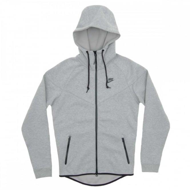 1a175ff3e0c5 Nike Tech Fleece Windrunner 1mm Dark Grey Heather - Mens Clothing ...