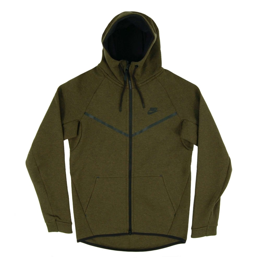 71b4cec69289 Nike Tech Fleece Windrunner 1mm Dark Loden Heather - Mens Clothing ...