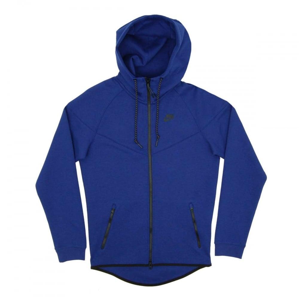 Nike Tech Fleece Windrunner 1mm Deep Royal Blue - Mens Clothing from ... b1d2fcb754bb
