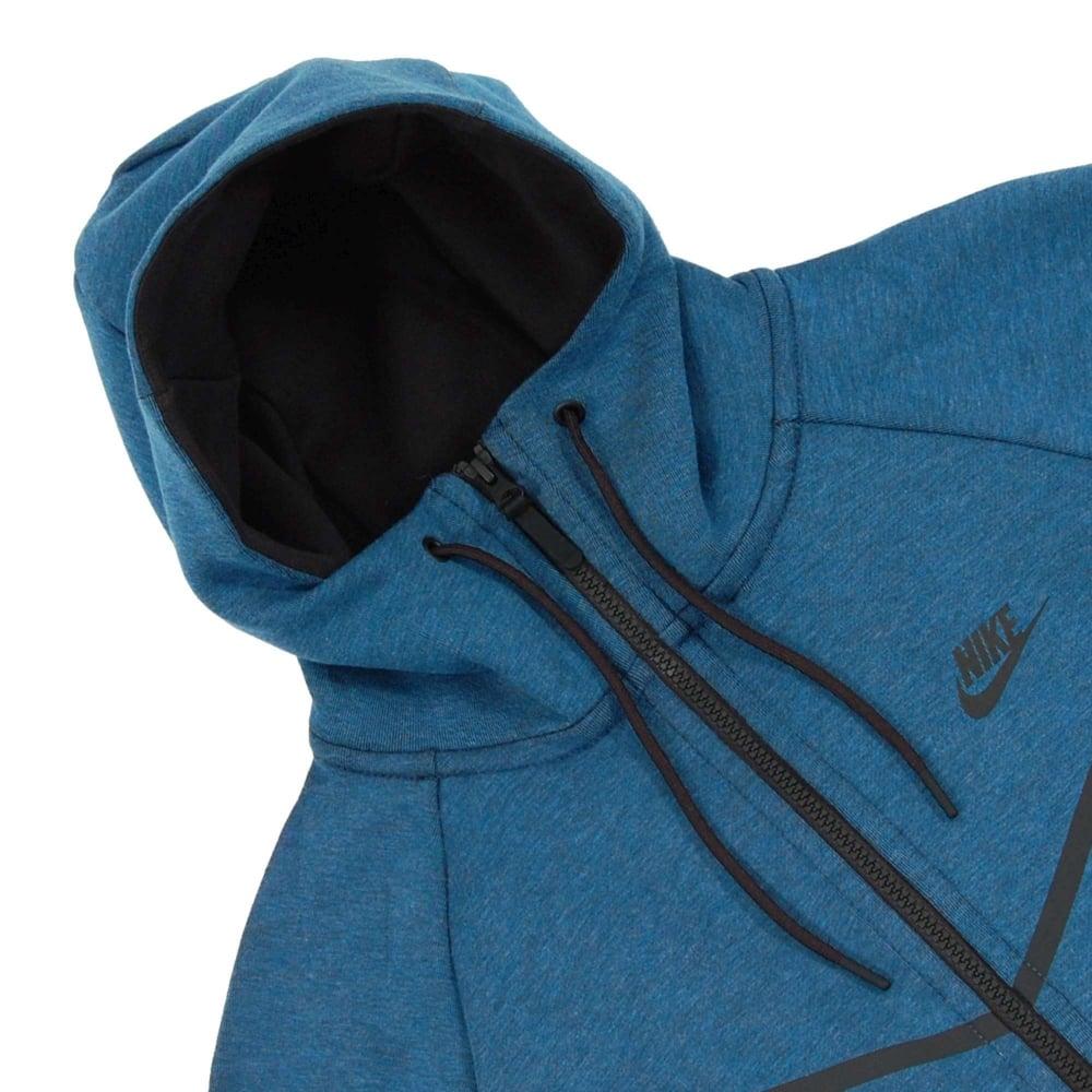 Nike Tech Fleece Windrunner 1mm Industrial Blue Heather - Mens ... 5358e7d883f9