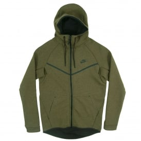 Tech Fleece Windrunner 1mm Medium Olive Heather