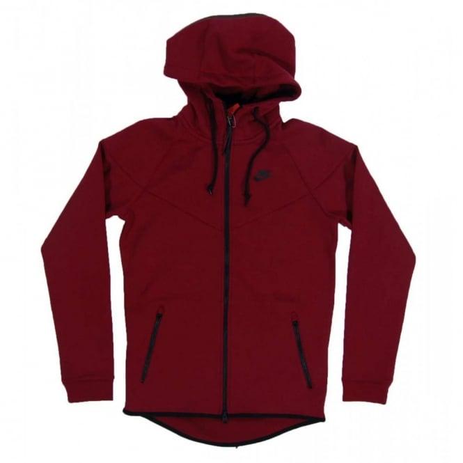 5587ca87f48d Nike Tech Fleece Windrunner 1mm Medium Team Red Heather - Mens ...