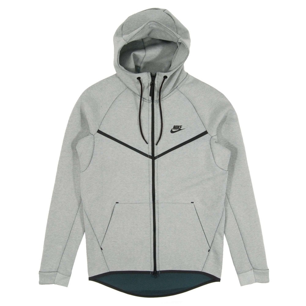 Nike Tech Fleece Windrunner CB Barley Grey Heather - Mens Clothing ... 8b28677a647d