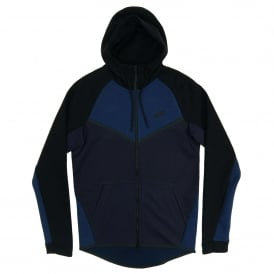 Tech Fleece Windrunner CB Obsidian Heather Obsidian Black