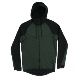 Tech Fleece Windrunner CB Outdoor Green Heather Black