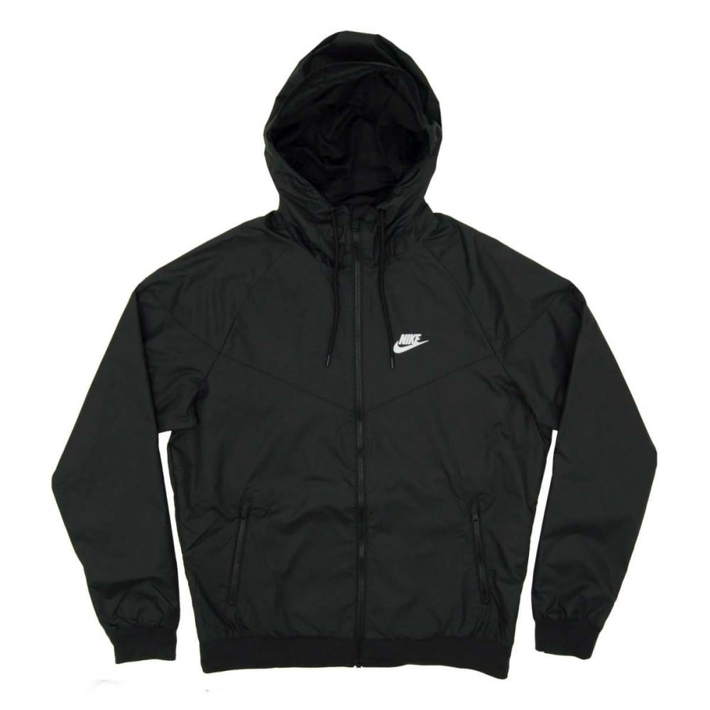 f94f7e9730 Nike Windrunner Jacket Black - Mens Clothing from Attic Clothing UK