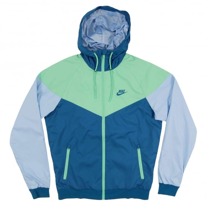 f7b0c5152e53 Nike Windrunner Jacket Industrial Blue Tourmaline Light Armory Blue ...