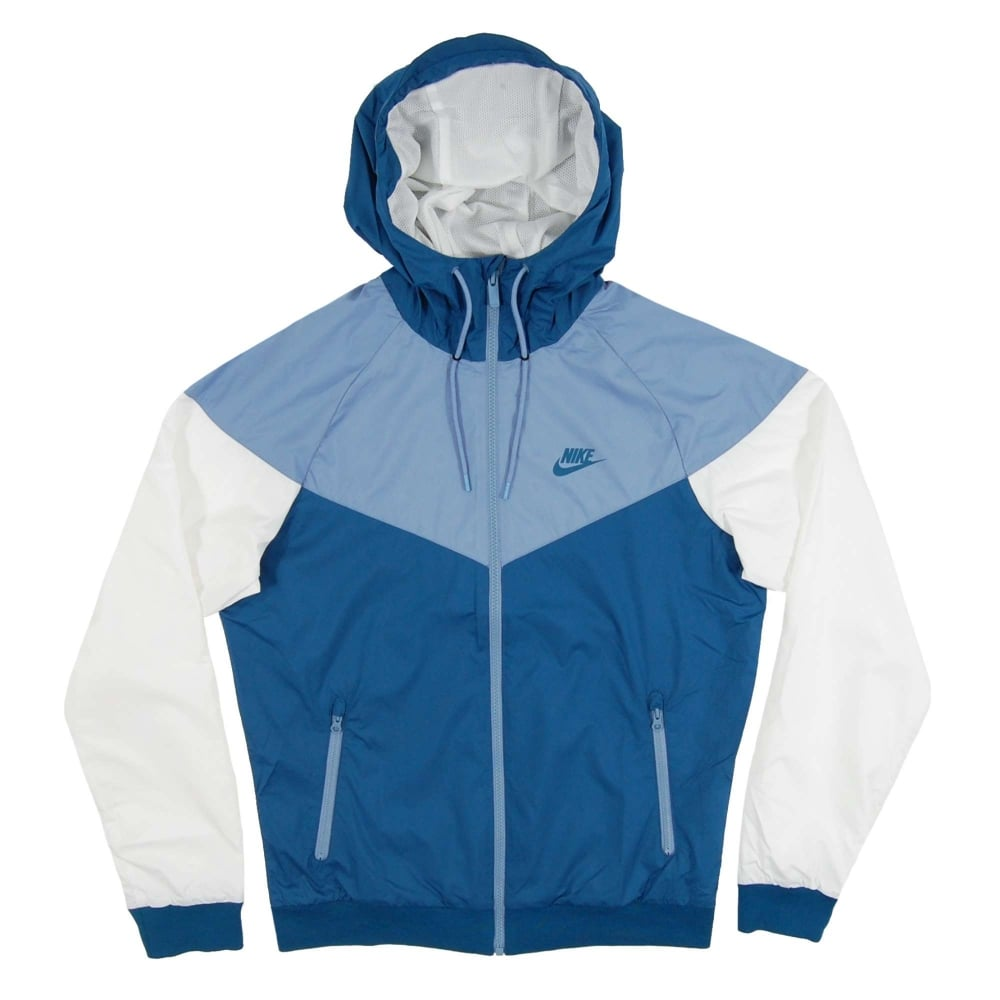 Nike Windrunner Jacket Industrial Blue Work Blue White