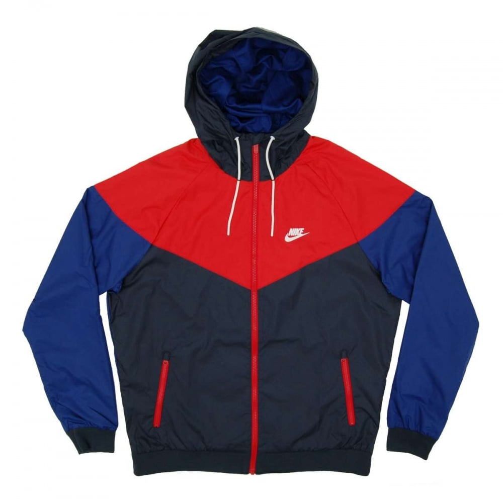 27947964d868 Nike Windrunner Jacket Obsidian University Red - Mens Clothing from ...