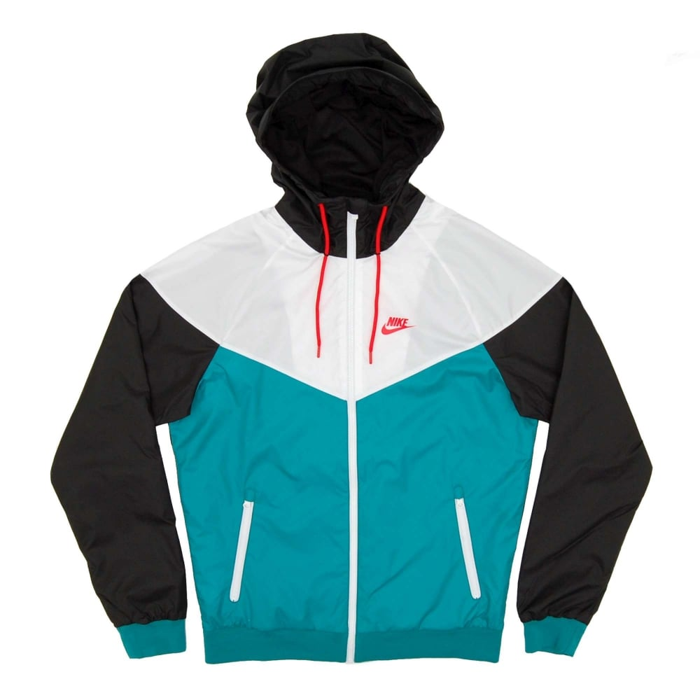 7daebd4868 Nike Windrunner Jacket Teal White Black - Mens Clothing from Attic Clothing  UK