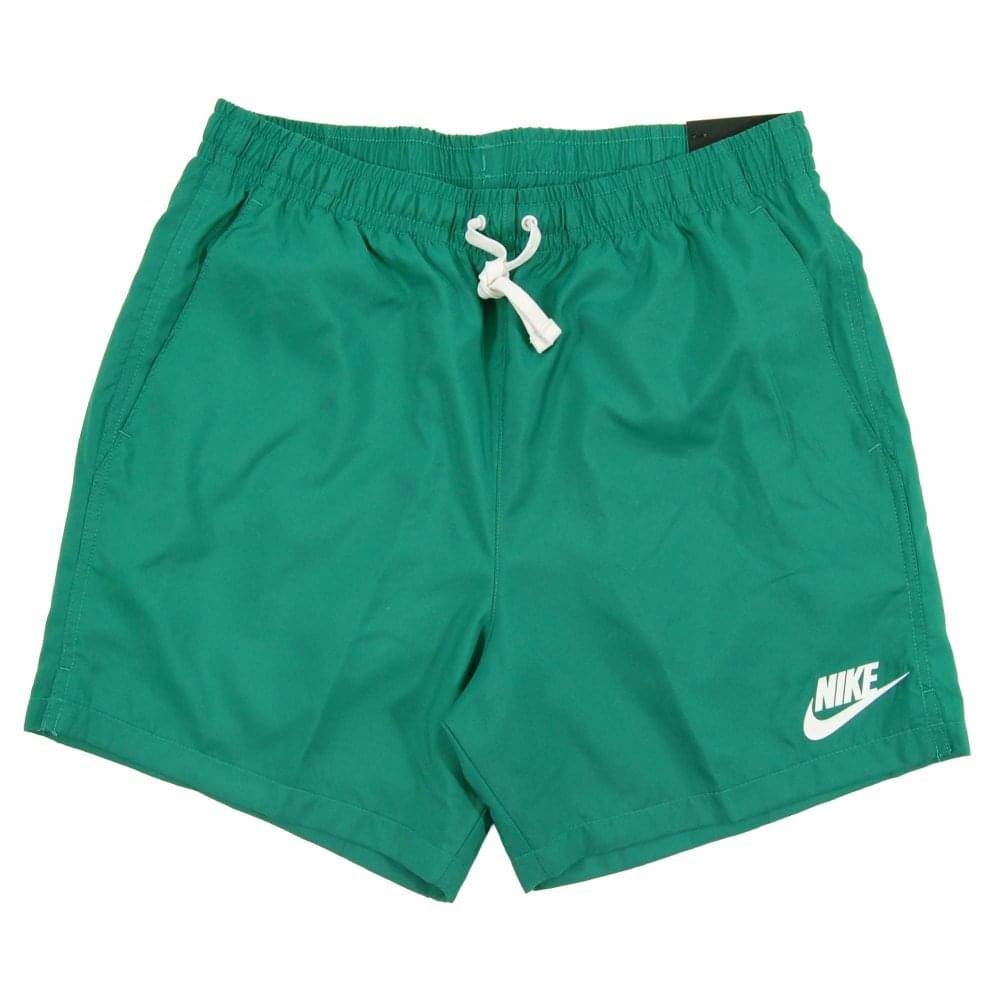 362f5c87d7aaf2 Nike Woven Flow Shorts Green Noise White - Mens Clothing from Attic ...