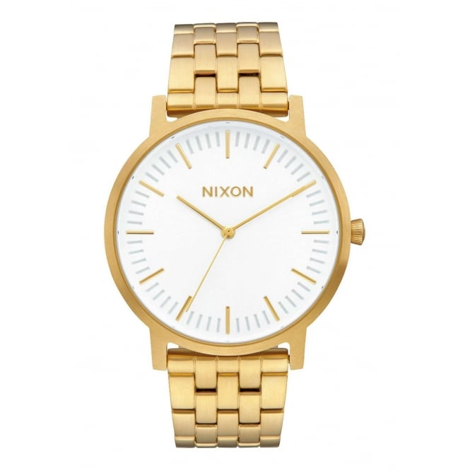 Nixon Porter All Gold White Sunray