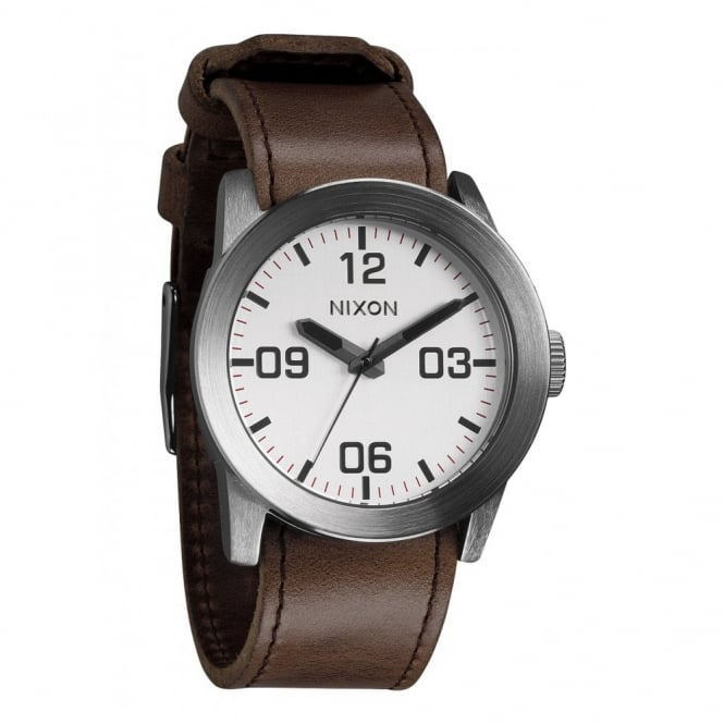 Nixon Private Silver Brown