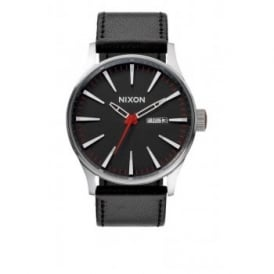 Sentry Leather Black