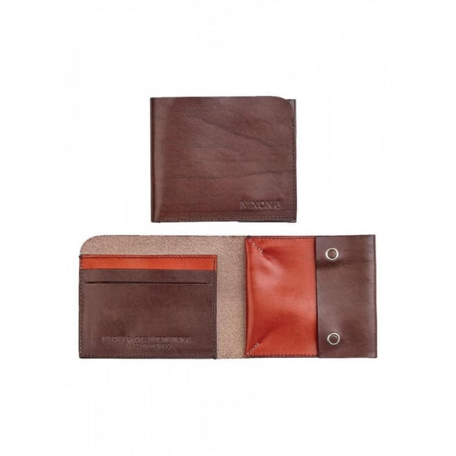 Nixon Shores International Wallet Walnut Tobacco