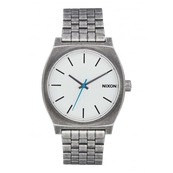 Nixon Time Teller Silver Antique