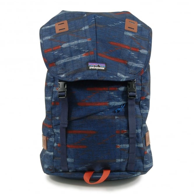 Patagonia Arbor Backpack 26L Elwha Ikat Navy Blue