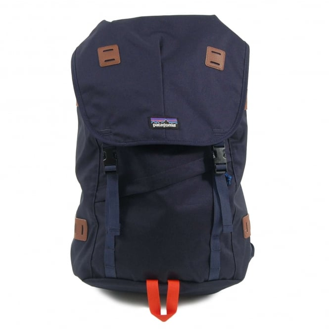 Patagonia Arbor Backpack 26L Navy Blue Paintbrush Red