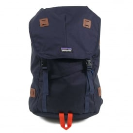 Arbor Backpack 26L Navy Blue Paintbrush Red