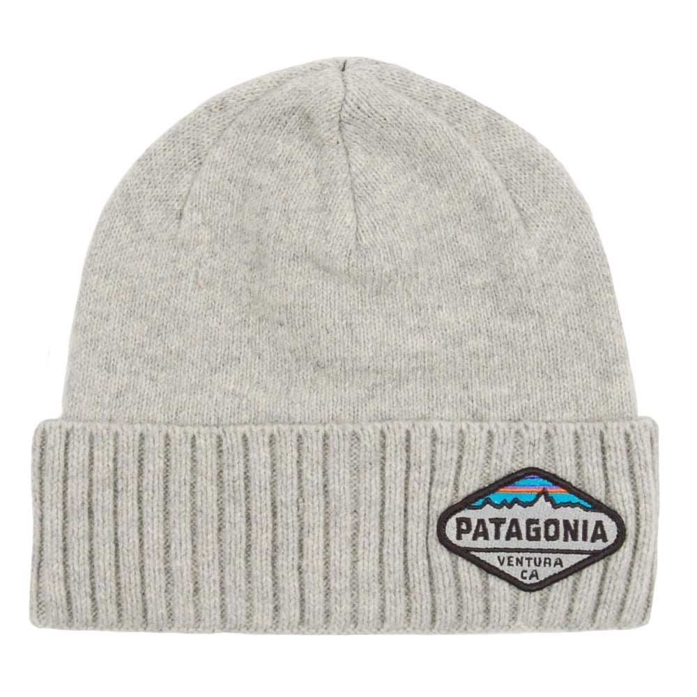 Patagonia Brodeo Beanie Fitz Roy Crest Drifter Grey - Mens Clothing ... 843aeb0bc3b
