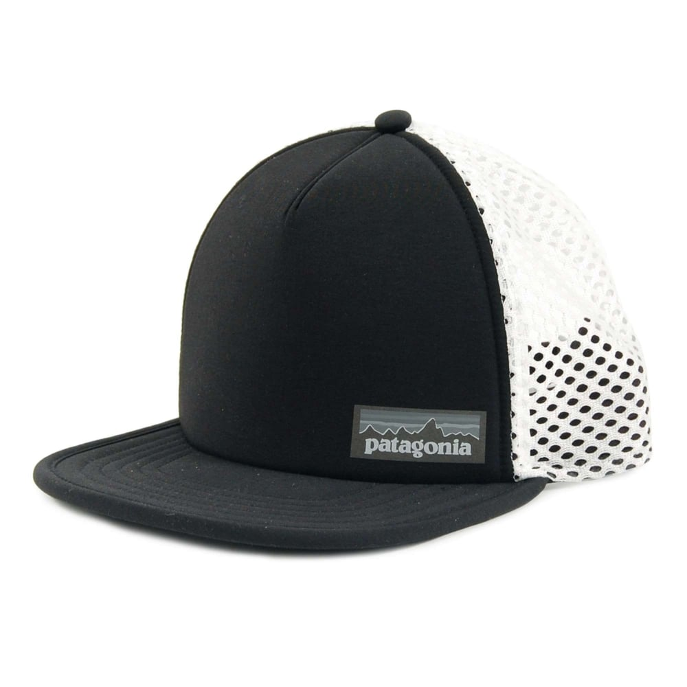 Patagonia Duckbill Trucker Hat Black - Mens Clothing from Attic ... 58530cb8b96