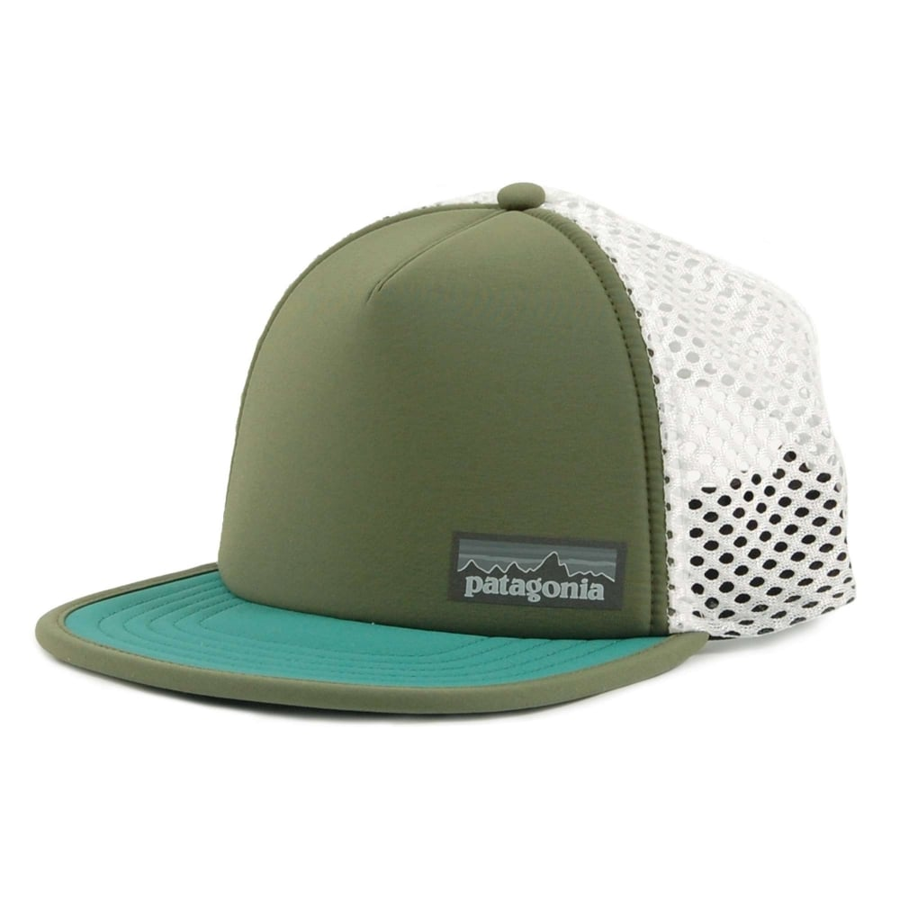 Patagonia Duckbill Trucker Hat Buffalo Green - Mens Clothing from ... 80616793caf
