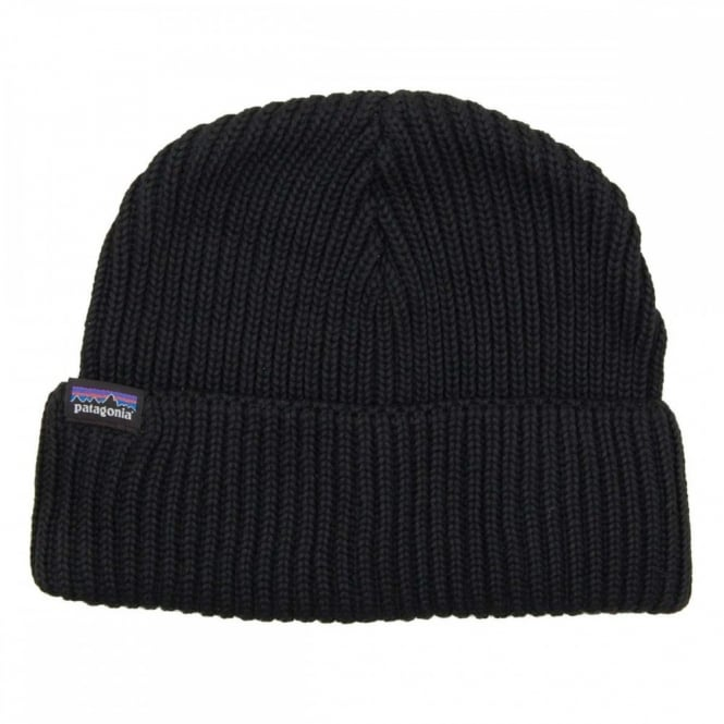091b5e267b24b Patagonia Fisherman s Rolled Beanie Black - Mens Clothing from Attic ...