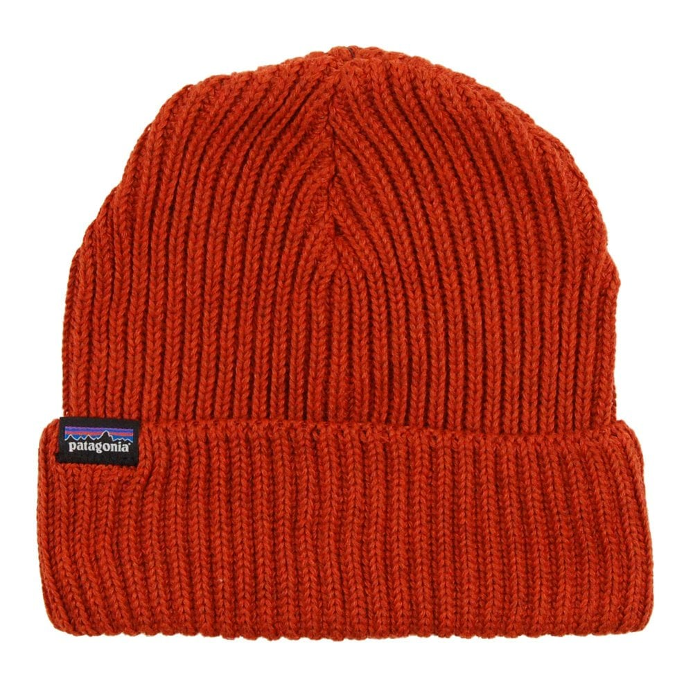 a224fbcfad309 Patagonia Fishermans Rolled Beanie Copper Ore - Mens Clothing from ...